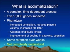 Pre-Acclimatization: Myths and Realities - Peter Hackett