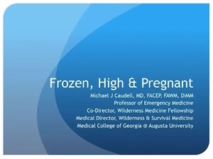 Frozen, High, and Pregnant - Michael Caudell