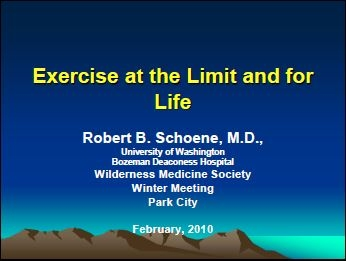 Everest Exercise and Beyond - Brownie Schoene