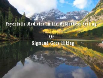 Psychiatric Medicine in the Wilderness Setting - David Snow