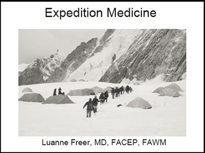 Expedition Medicine, Freer