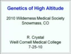 High Altitude Genetics, Crystal