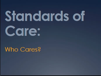 Wilderness Standards of Care: Who Cares? - Gardner