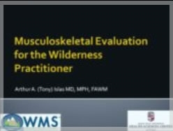 Musculoskeletal Concerns for the Wilderness Practitioner - Islas