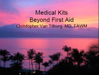 Medical Kits - Christopher Van Tilburg