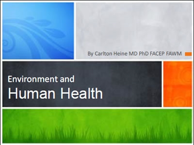 Environmental Health - Carlton Heine