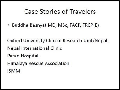 Third World Travelers Case Studies, Buddha Basnyat