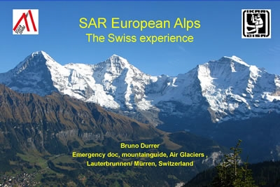 SAR in European Alps - Bruno Durrer