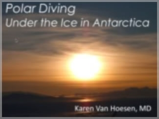 Cold Water Diving - Karen Van Hoesen