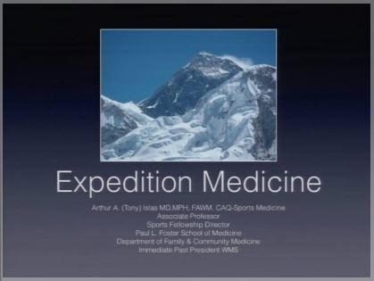 Expedition Medicine - Tony Islas