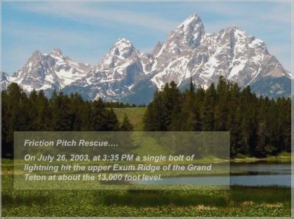 The Consequences of Lightning During a Climb of the Grand Teton - Renny Jackson