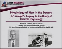 Physiology of Man in the Desert - Robert Kenefick