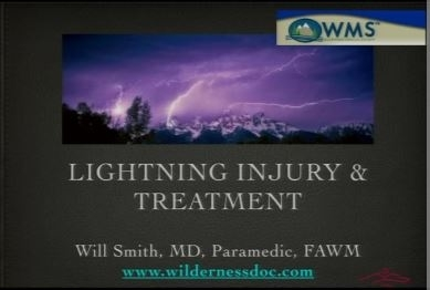 Lightning Injury and Treatment - Will Smith
