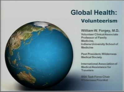 Global Health Volunteerism - William Forgey