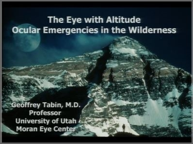 Wilderness Ophthamology - Geoffrey Tabin