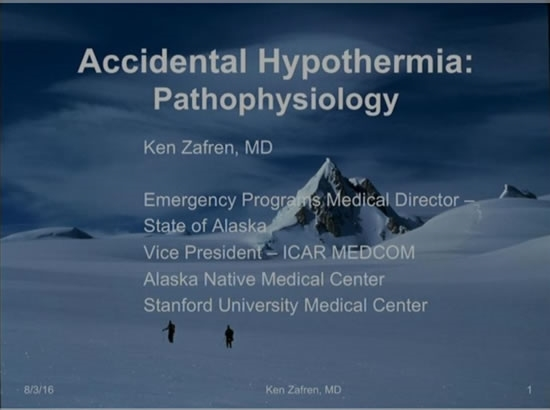 Avalanche and Hypothermia - Ken Zafren, Peter Paal, Hermann Brugger