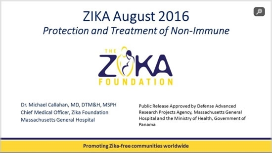 Zika: Protection and Management of the Non-Immune - Michael Callahan