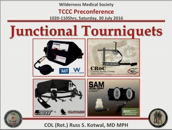 Extravascular Hemorrhage Control: Junctional Devices - Russ Kotwal